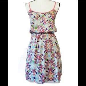 COLLECTIVE CONCEPTS Geo-Print Colourful Sundress